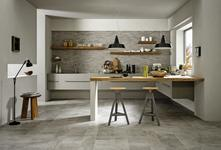 Blend - satin-finish stone-look floor tiles
